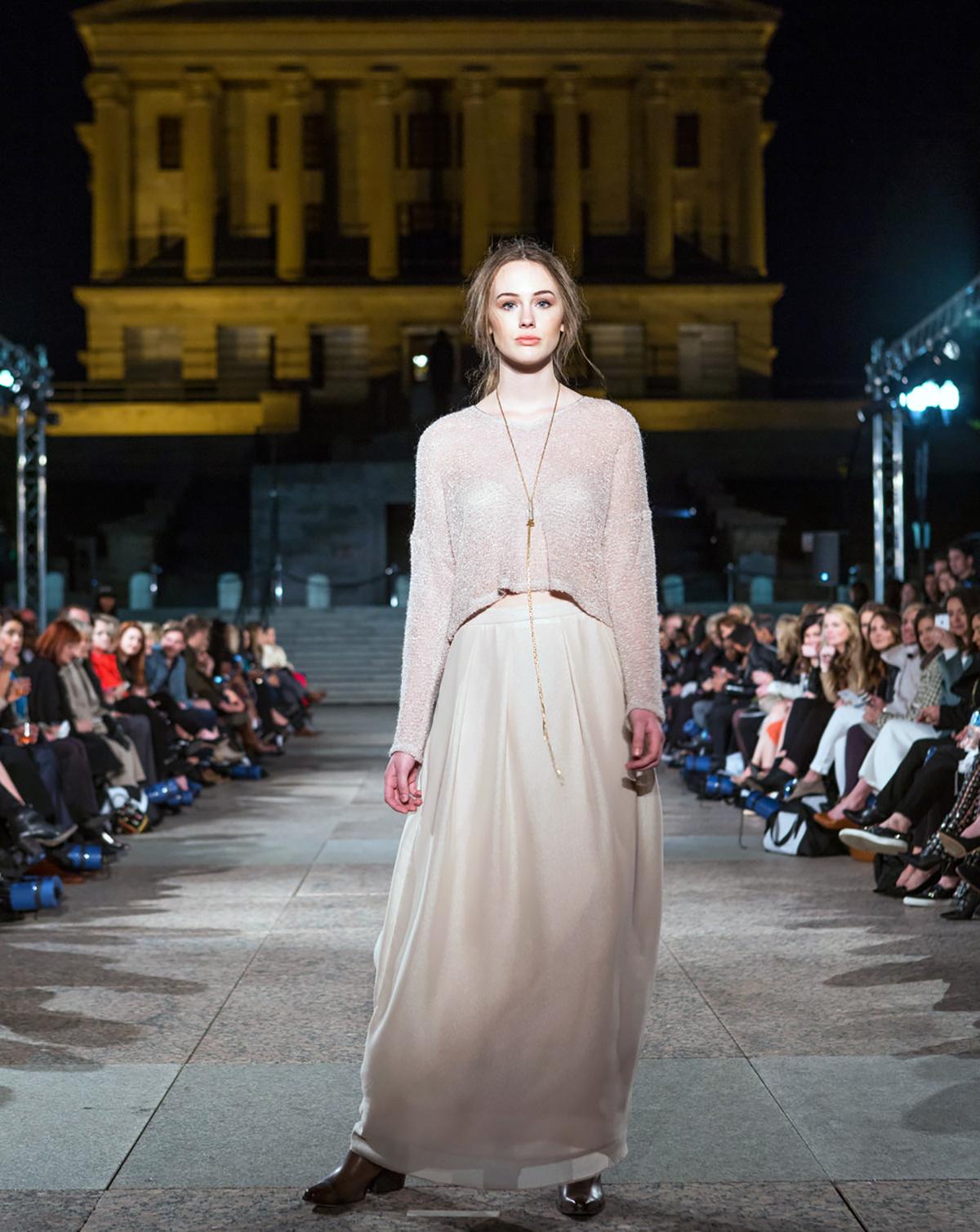 Lagi Nadeau  (Image courtesy of Nashville Fashion Week)