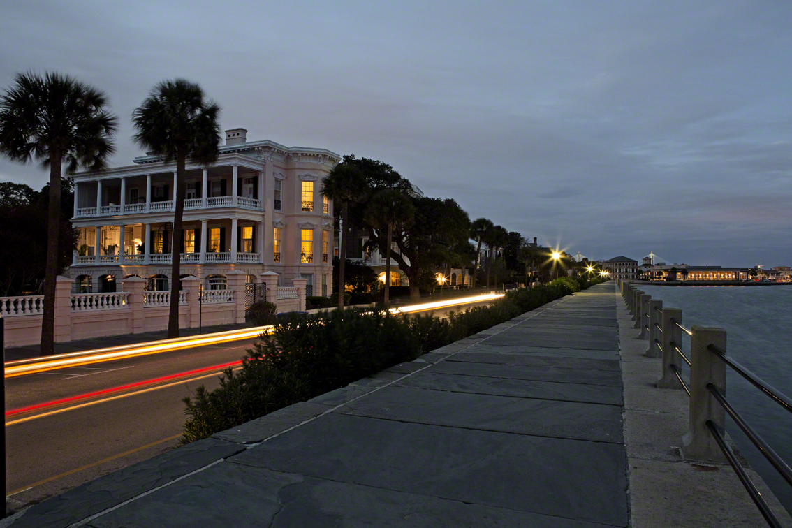 early evening on the battery