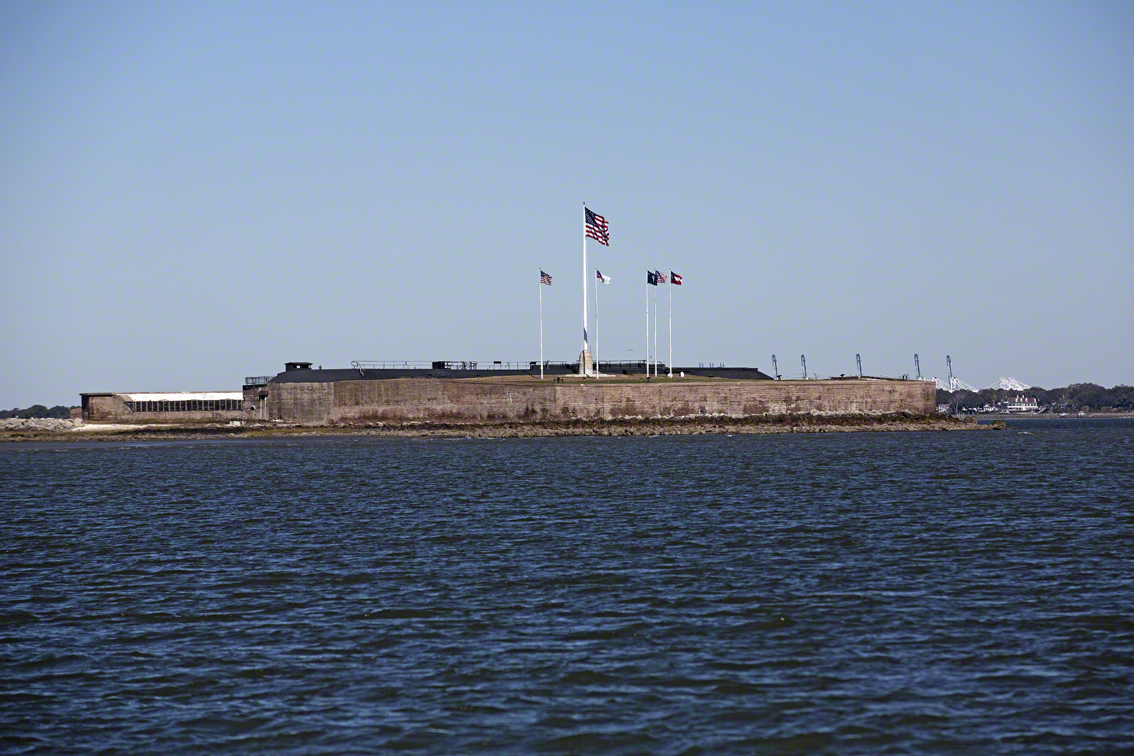 fort sumter from morris island