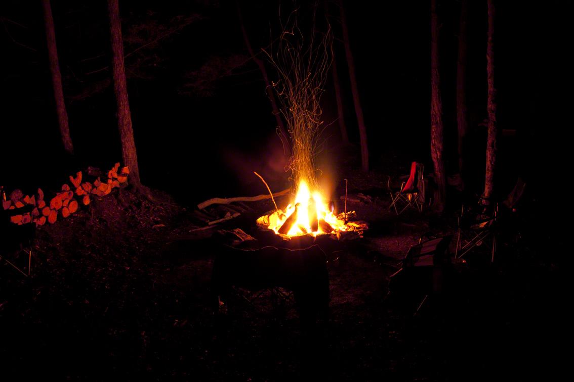 empty fire side