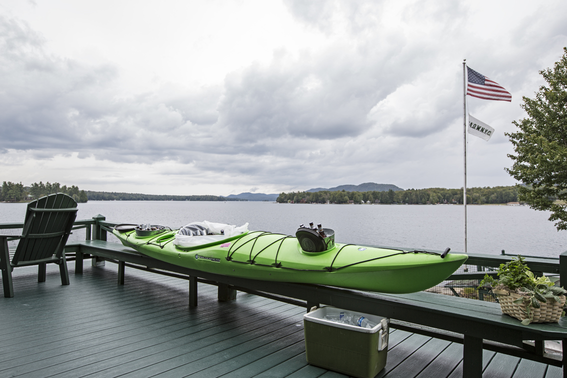 Second best use for a kayak, beer cooler.