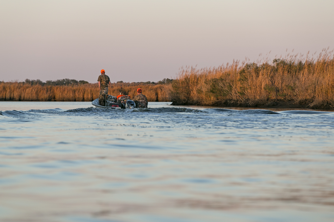 These two guys were on their way back from hunting water fowl, I wished I had a motor on my boat at this point, by the time I put my camera down, I had floated backwards at least 20 yards.