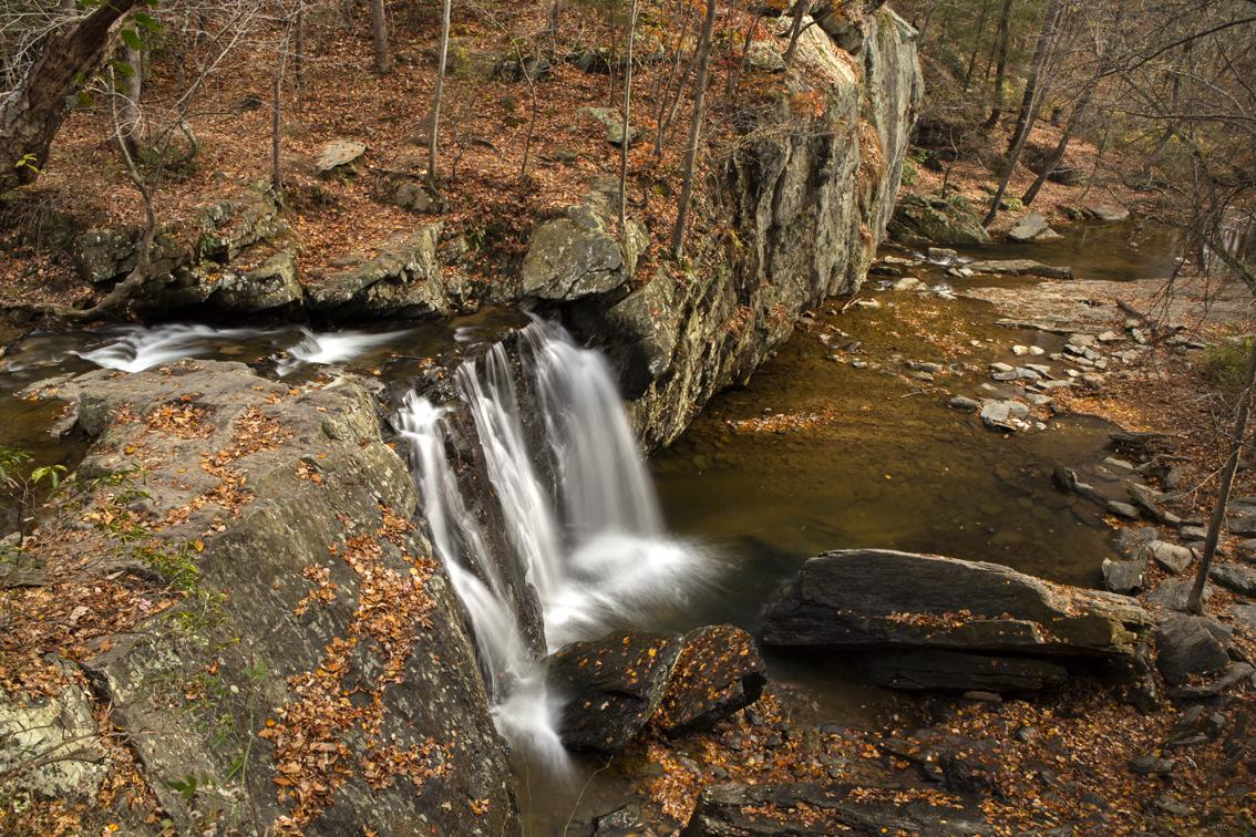 Killgore falls, on Falling Branch creek.