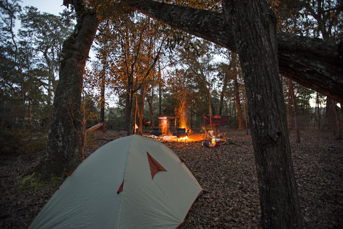 Mr Jeff still has a tent......