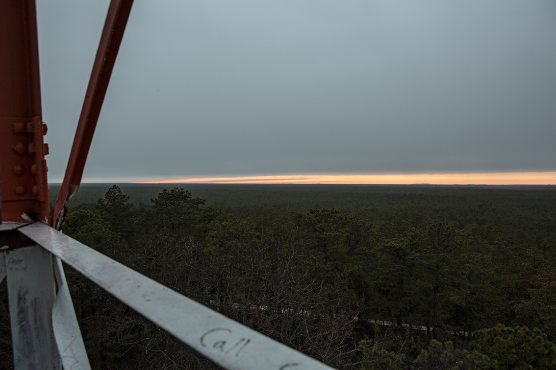 Sunset from tower was pretty underwhelming.