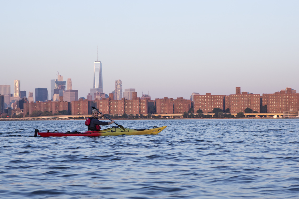 About to hit the East River.