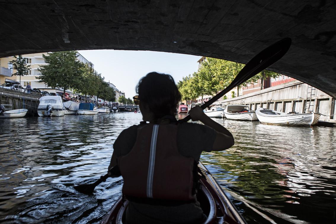 Kayak touring