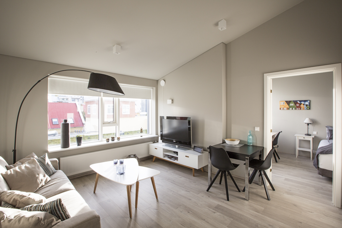 Our home in Reykjavik - it was great.