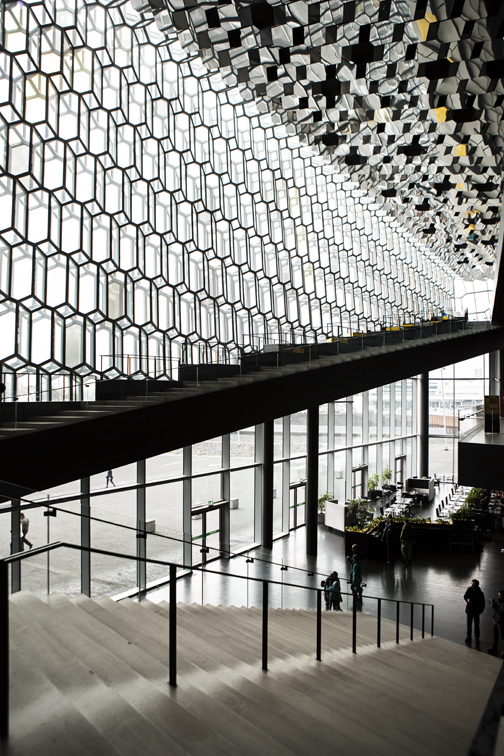 Harpa from the inside.
