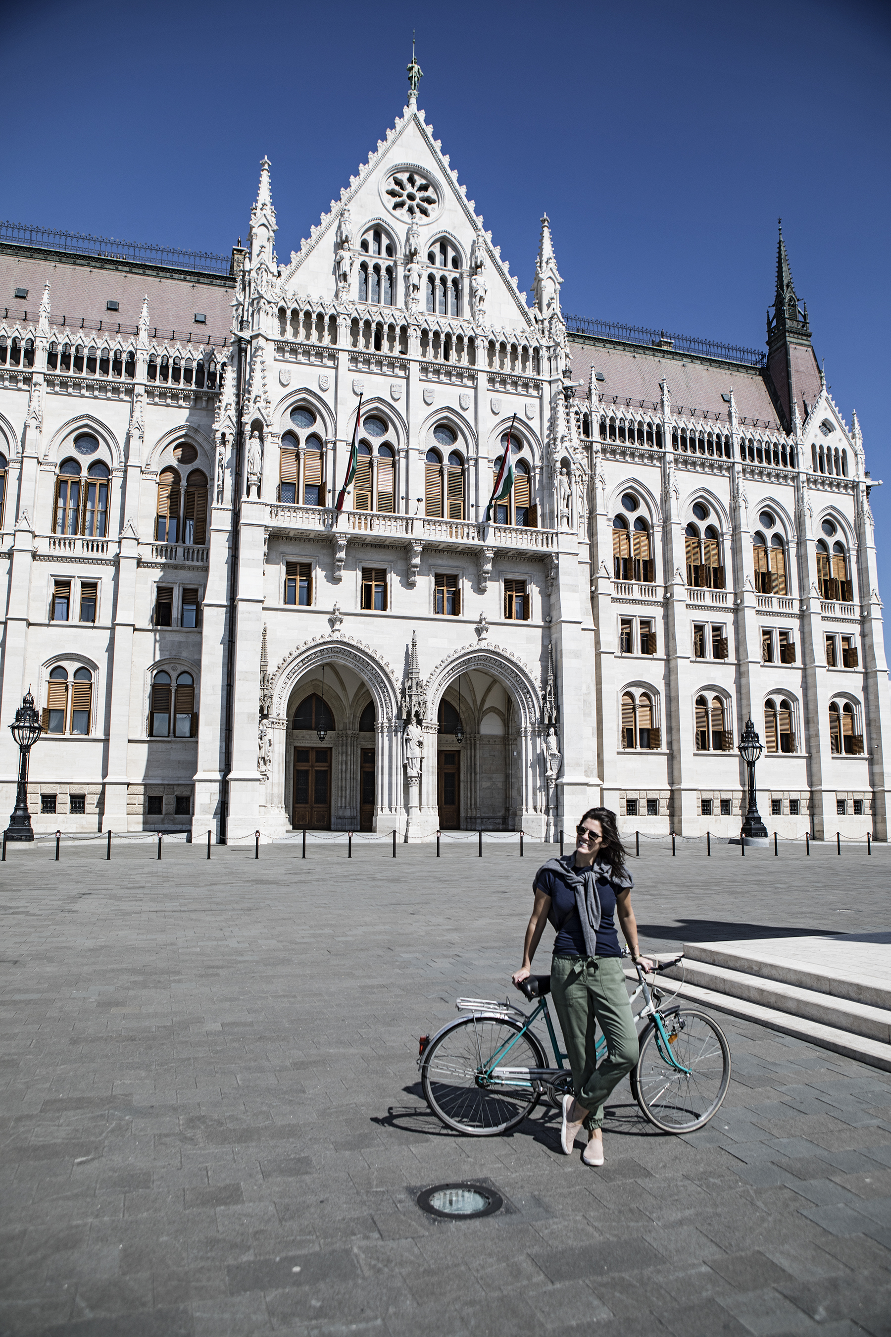 Hungarian Parliament - this sucker has over 600 rooms.  We went in zero of them.