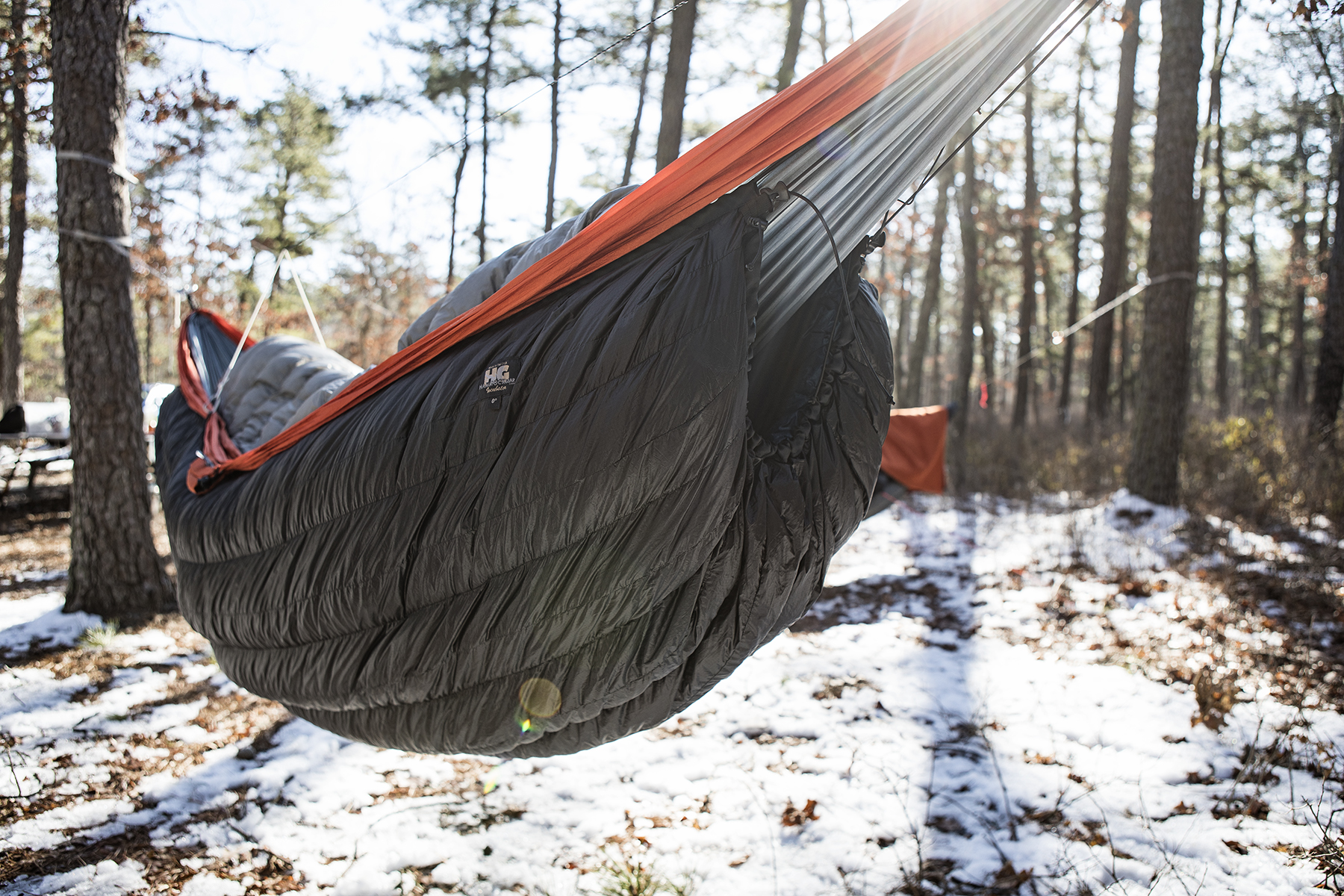 My down cocoon kept me nice and toasty.