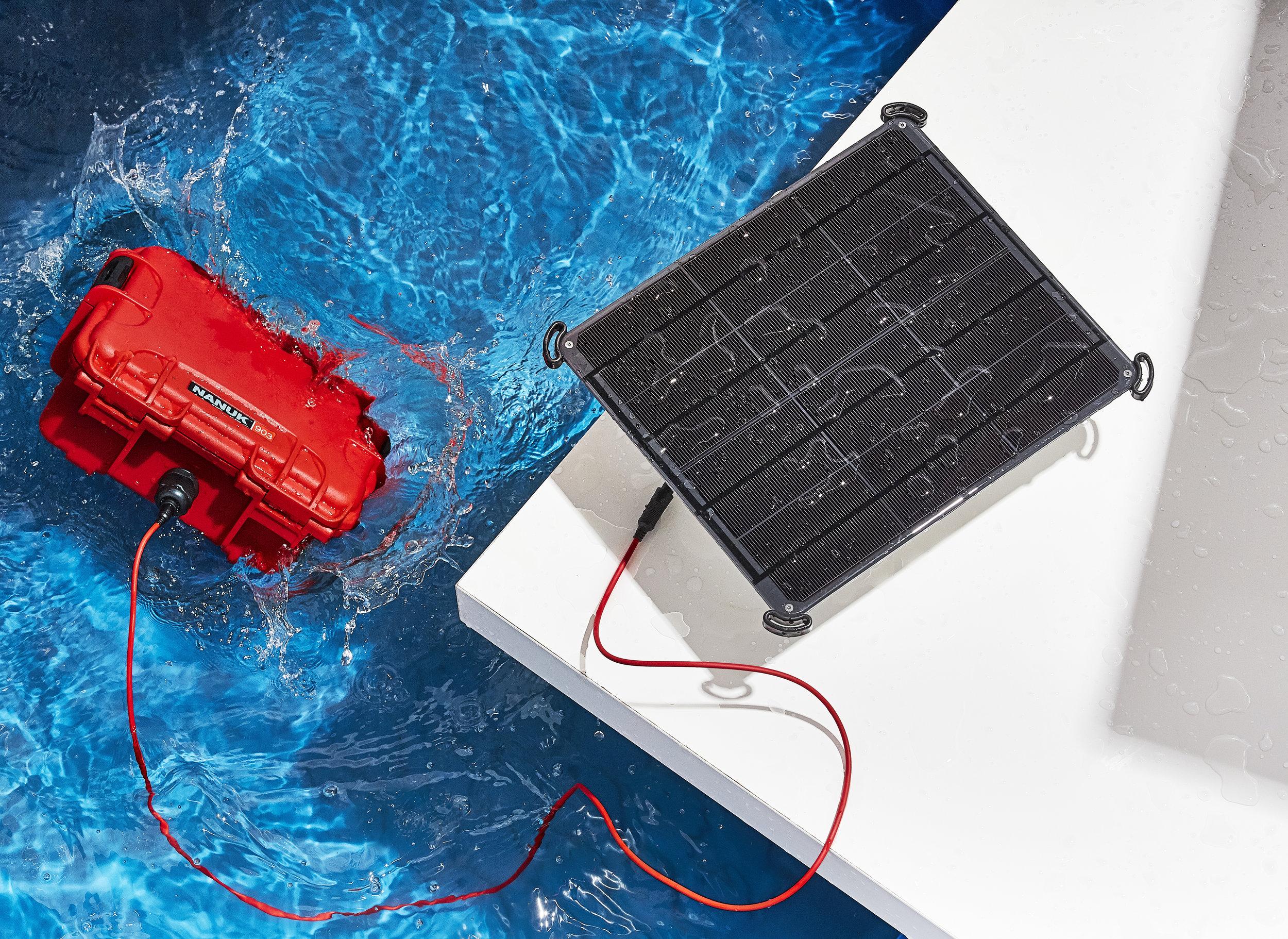 Voltaic Solar Power
