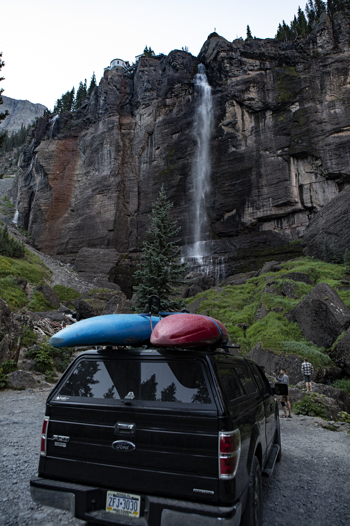 Bridal Veil Falls outside of Telluride.