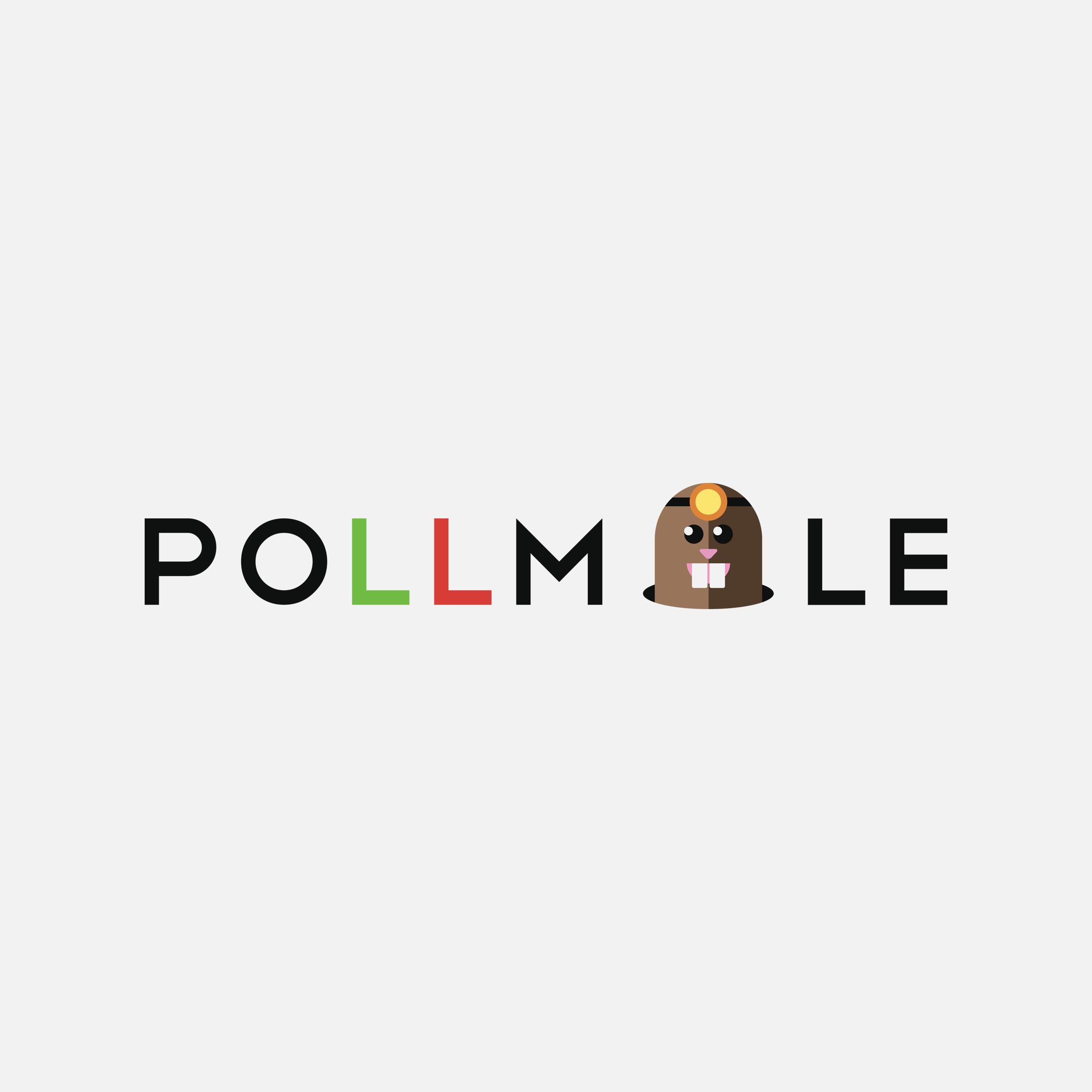 Pollmole App Proposed Logo