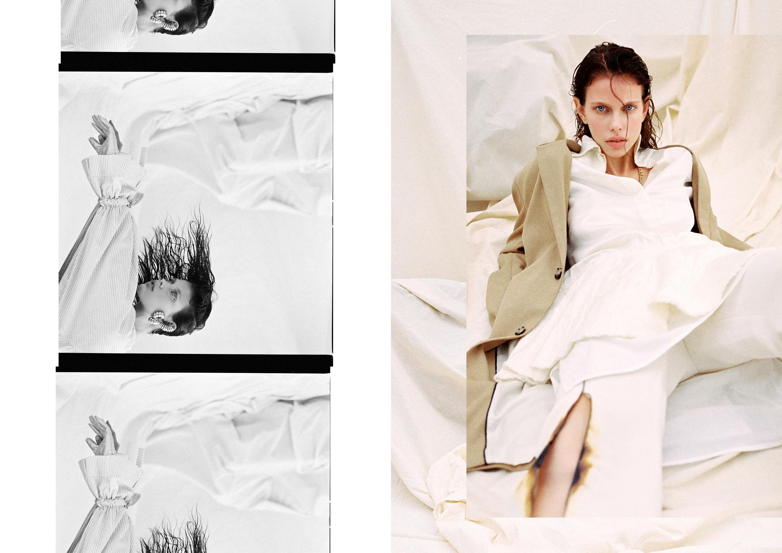 Blanc Canvas by Cristian Davila Hernandez