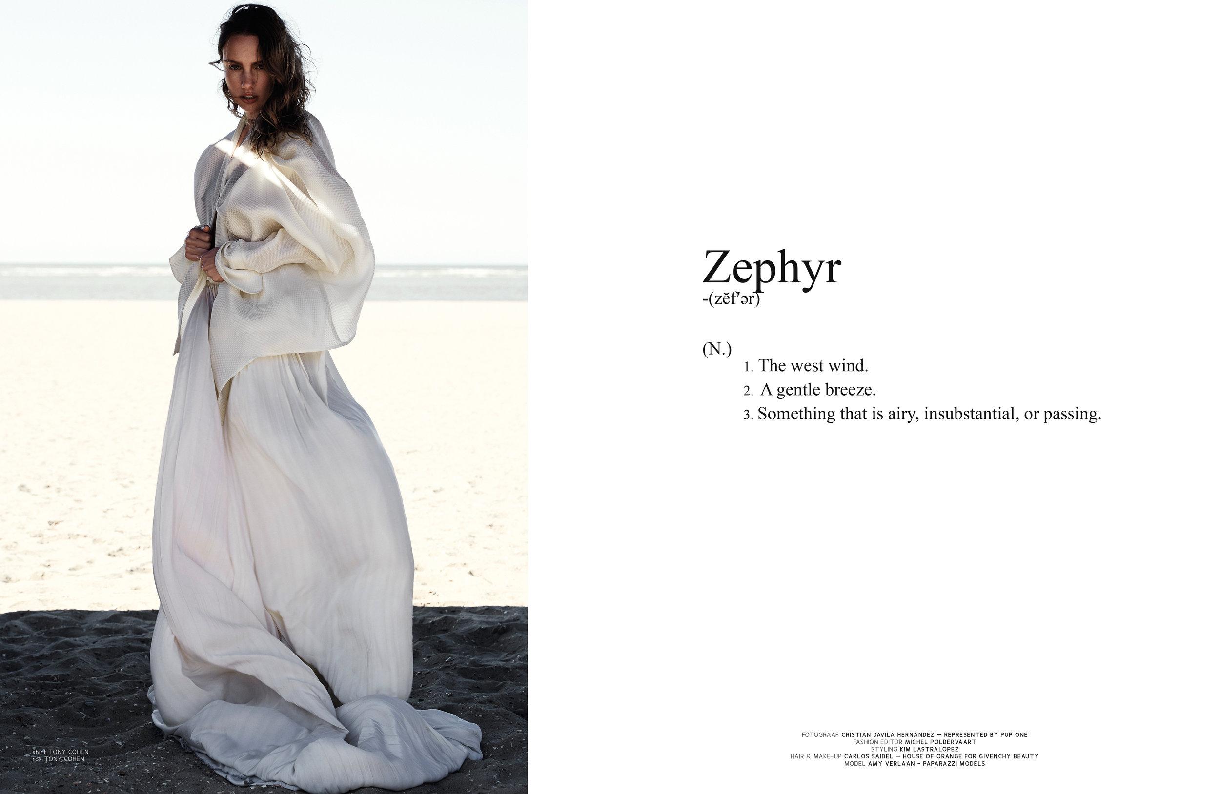 ZEPHYR FOR LAF MAGAZINE