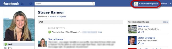 Harmon Enterprises ID On Facebook Profile