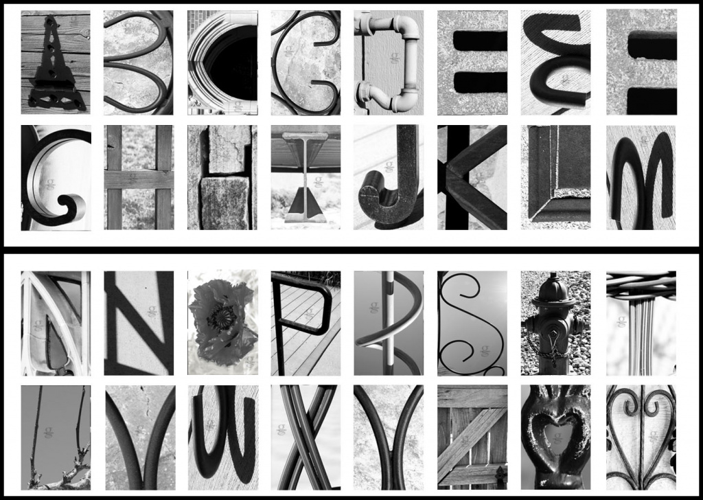 Printable Alphabet Photography Letters Free - Printable 360 Degree throughout Free Printable Alphabet Photography Letters