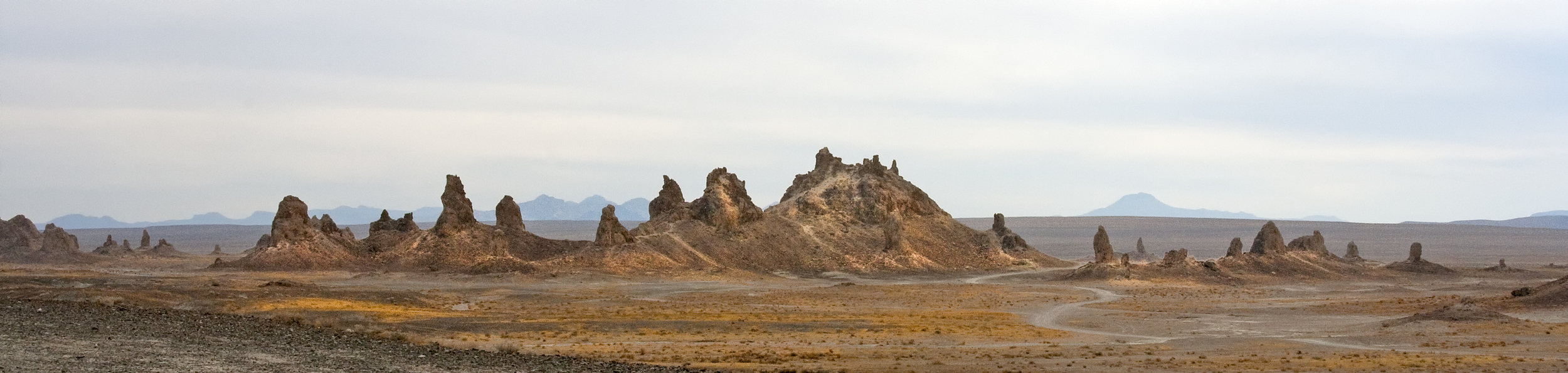 Ever changing California desert from Trona to Joshua ending at the Imperial dunes.