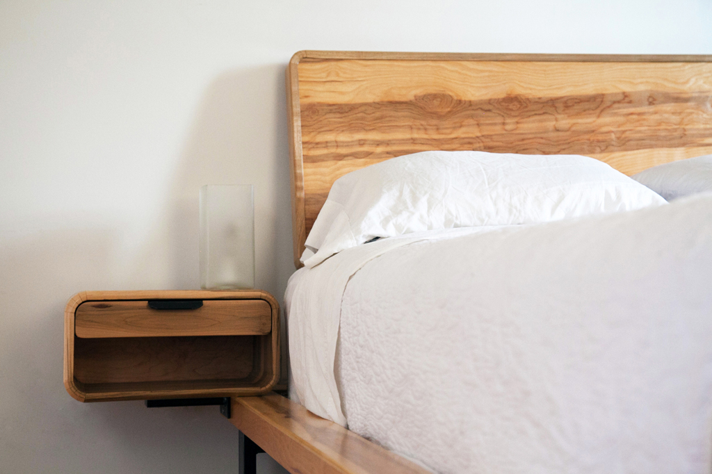 Maple and Steel Bed • 2012