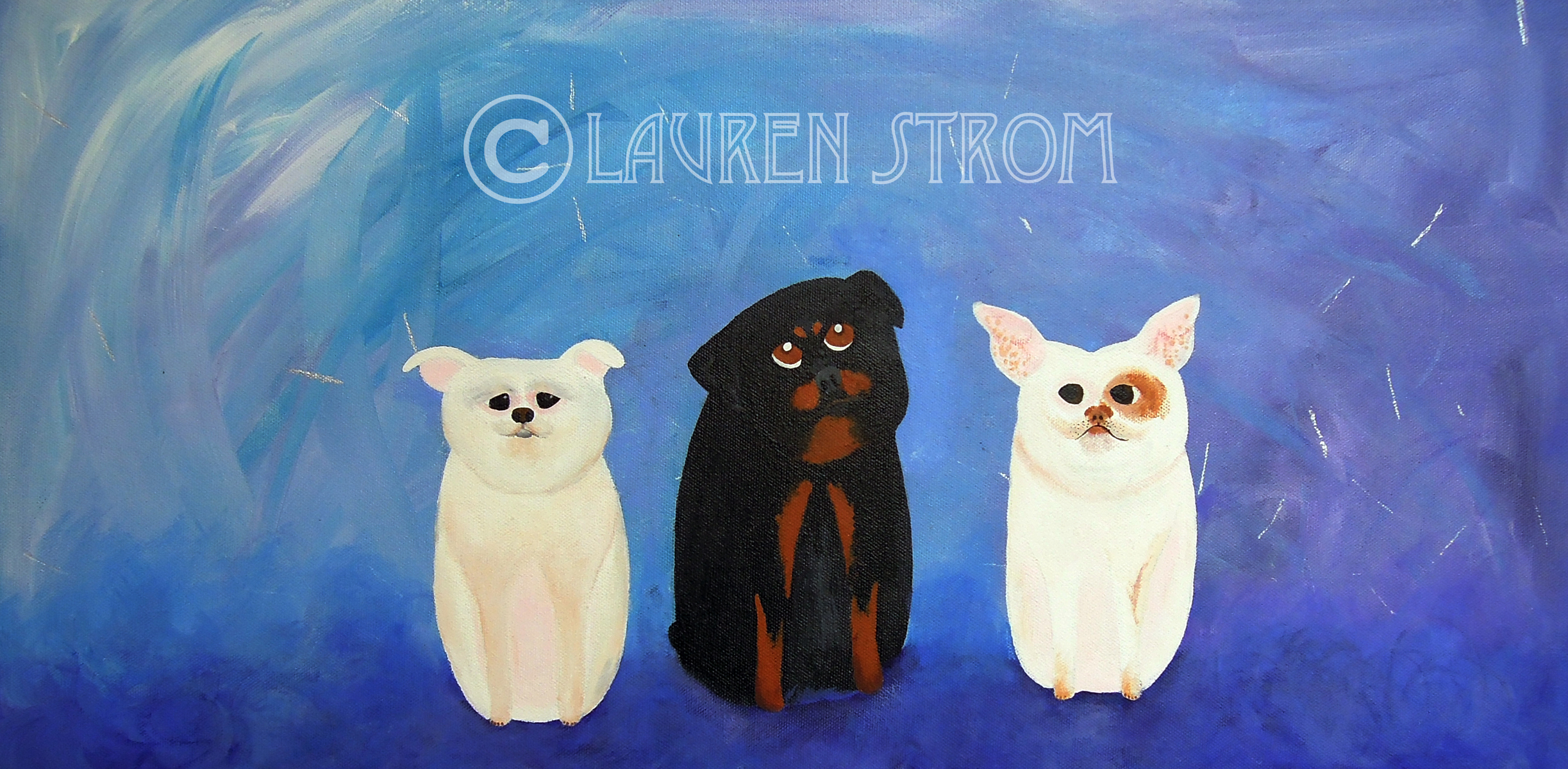 My Three Pups