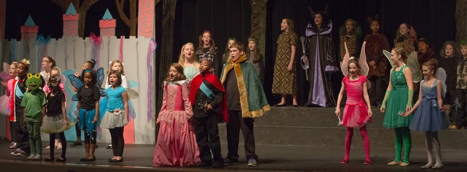 Disney's Sleeping Beauty Kids  Lower School | Feb. 2014