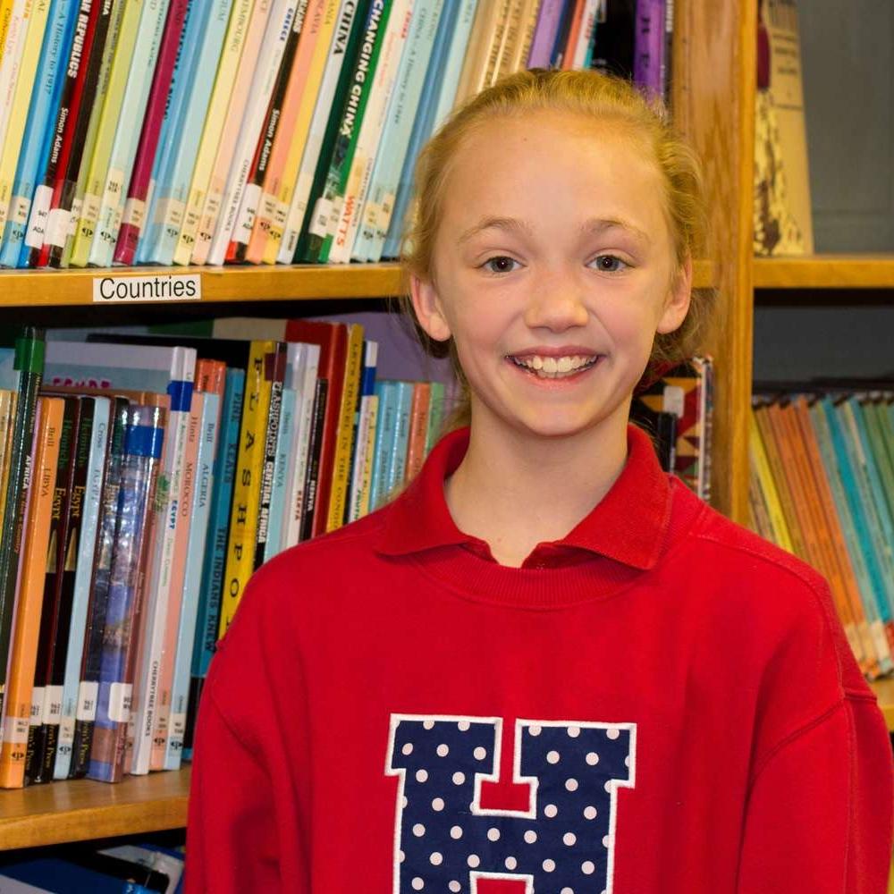 Emily Patterson (6th Grade) Harding Cordova