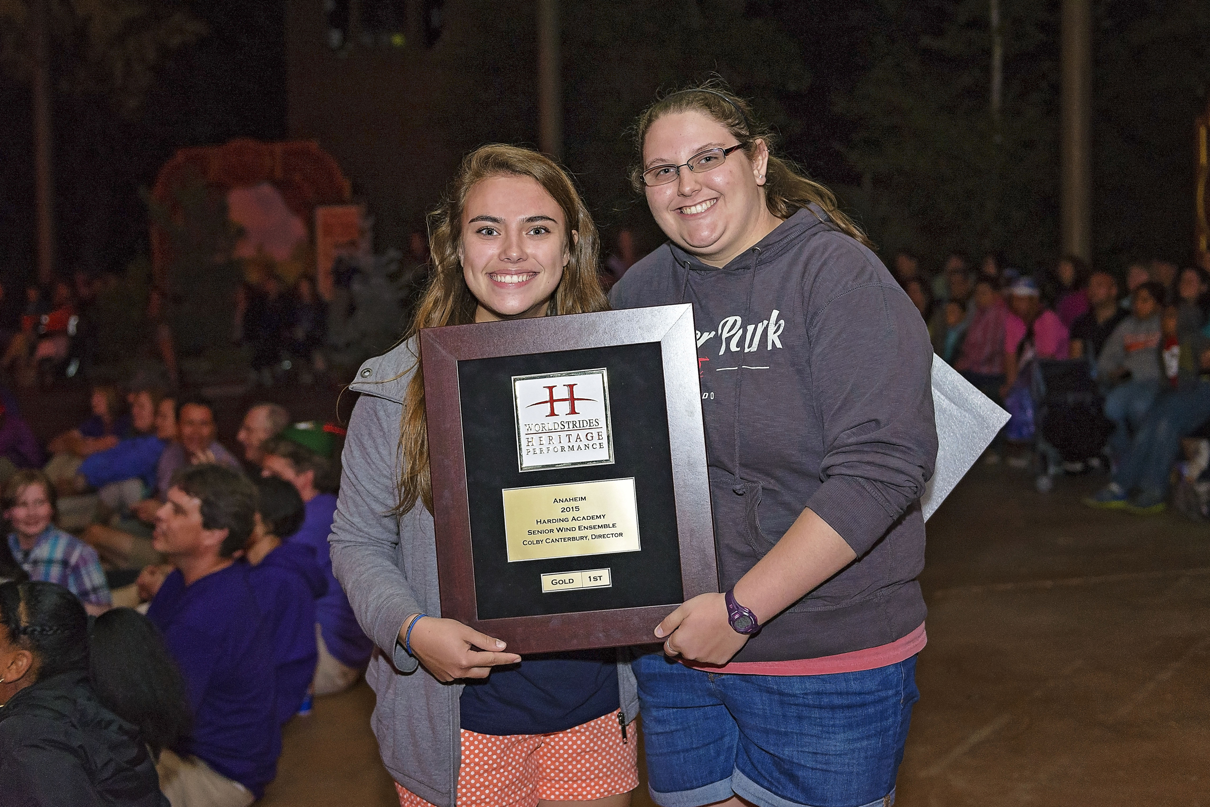 Harding SWE received Gold First Place and Best Overall Band at the Festival.