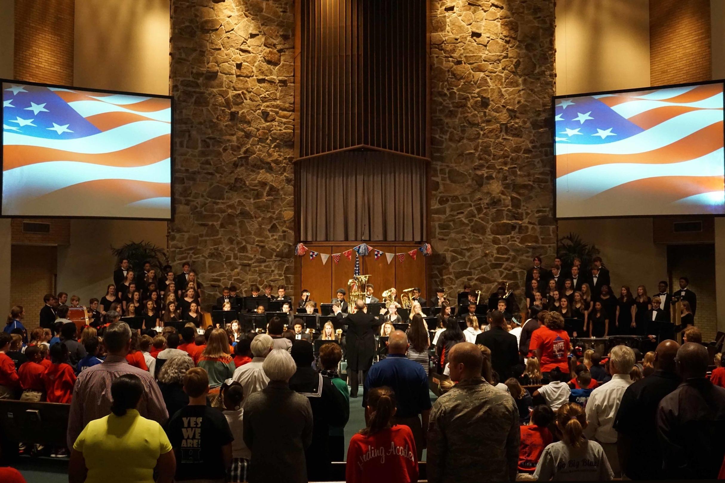 Veterans Day Chapel