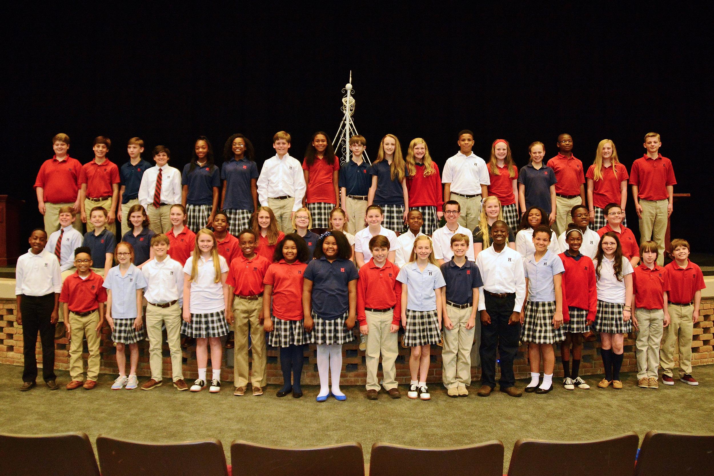 The Sixth Grade Bridge Ceremony