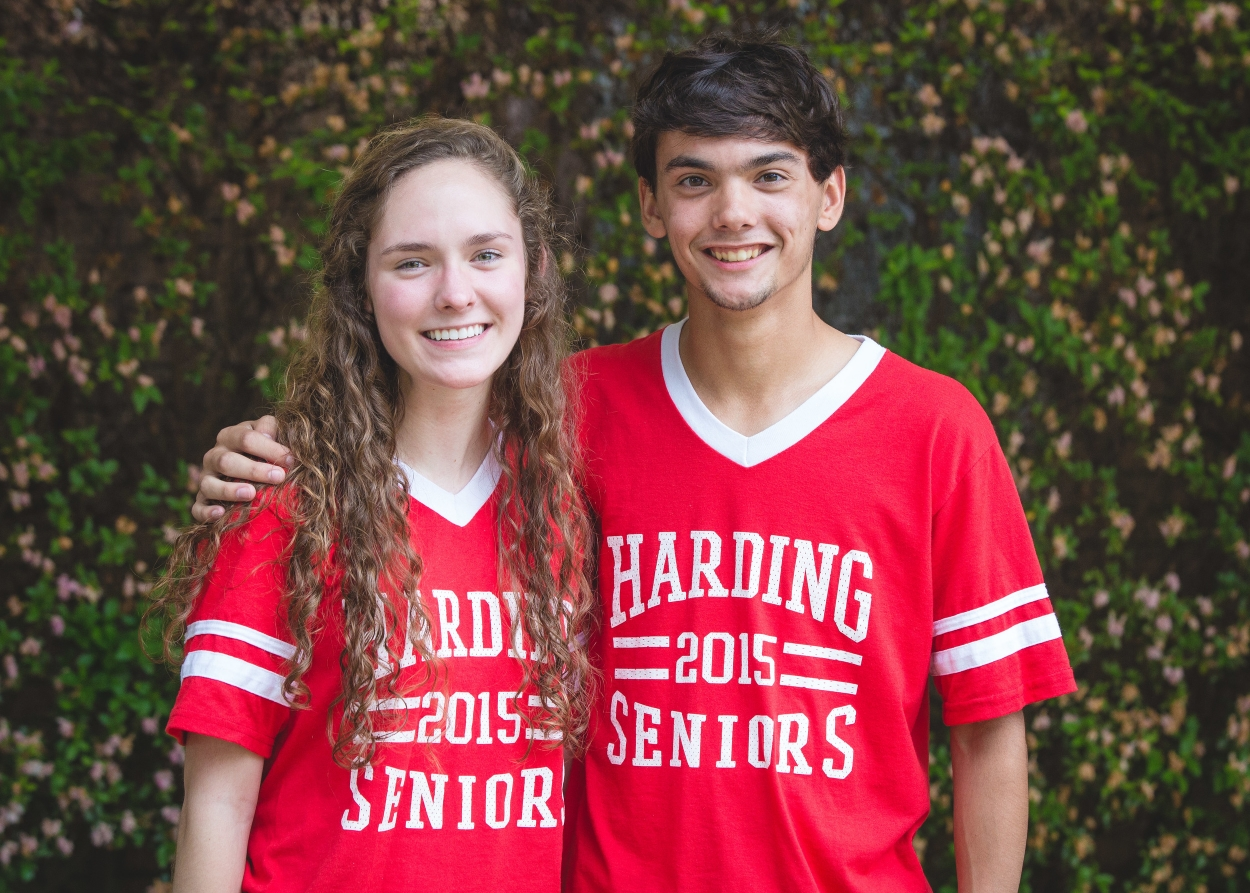 Mr. and Miss Harding: Christopher Galbreath and Carissa Sevier