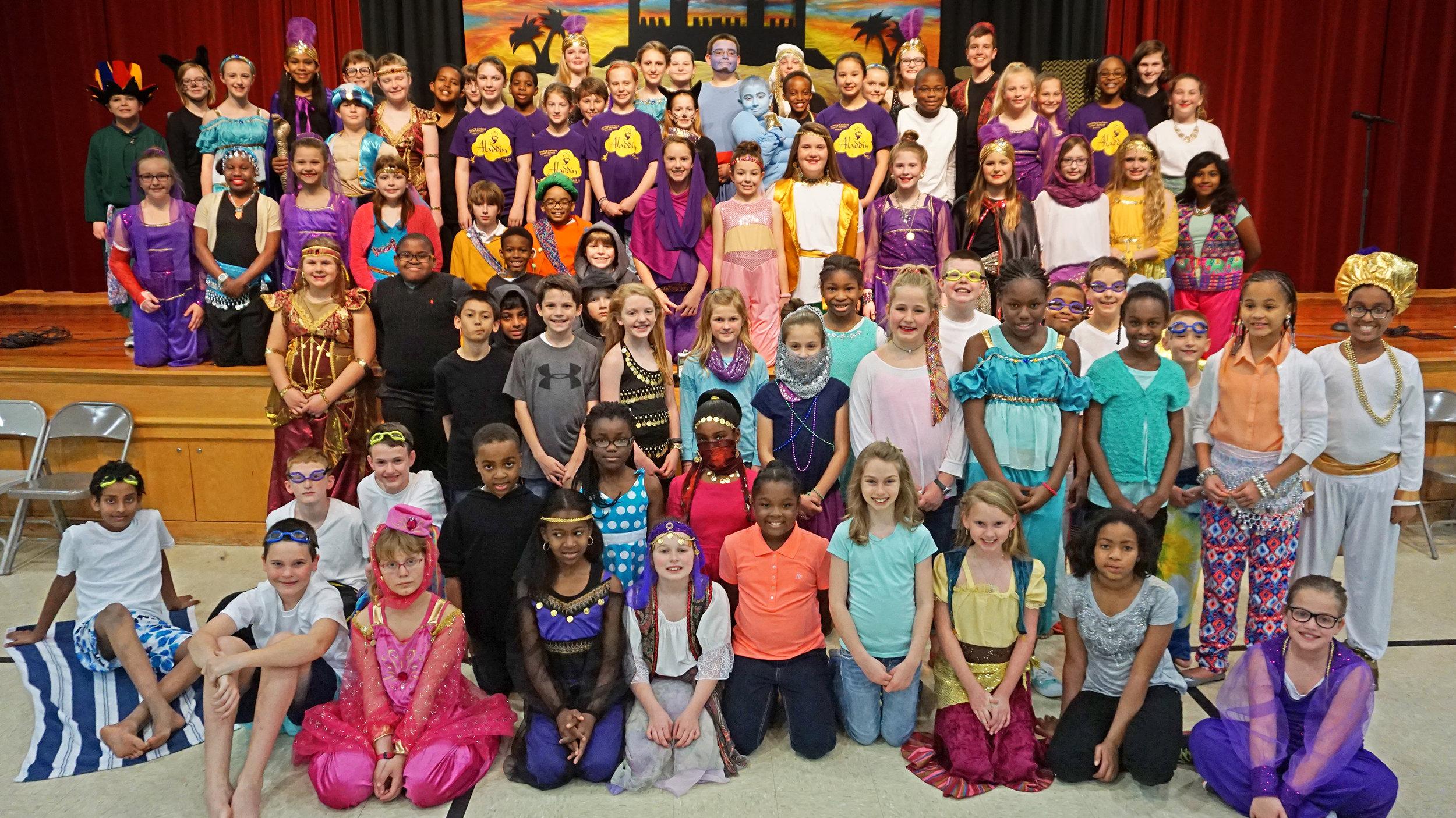 Cordova Grades 4–6 present  Aladdin