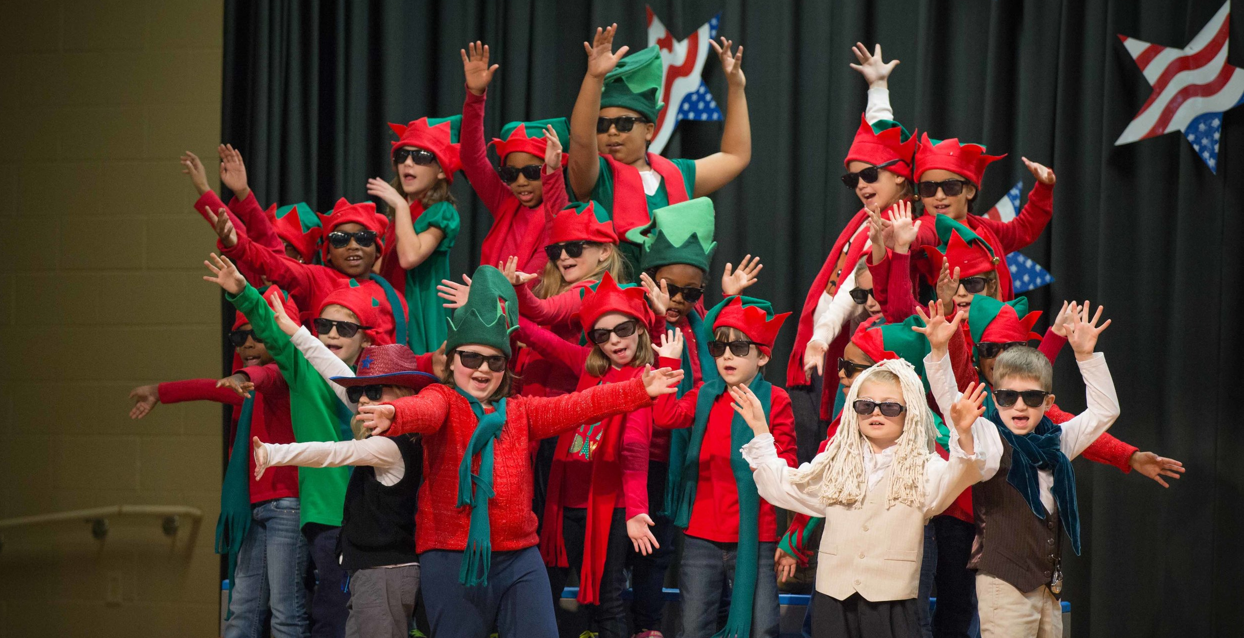 Cordova Grades 1–3 Christmas Program