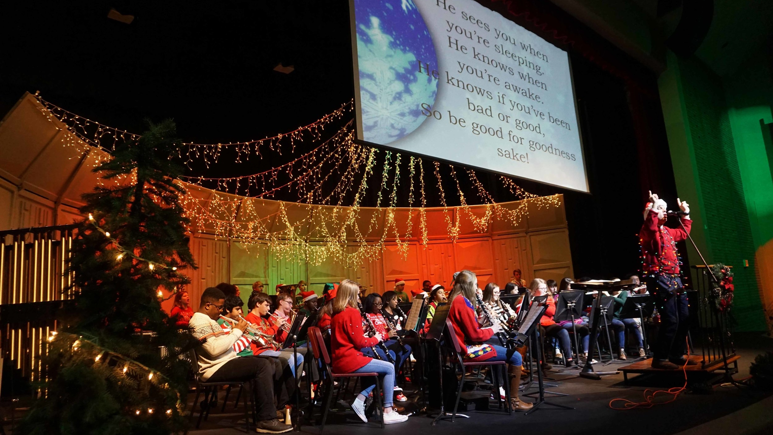 2016 Christmas Sing–along with Grades 5 & 6
