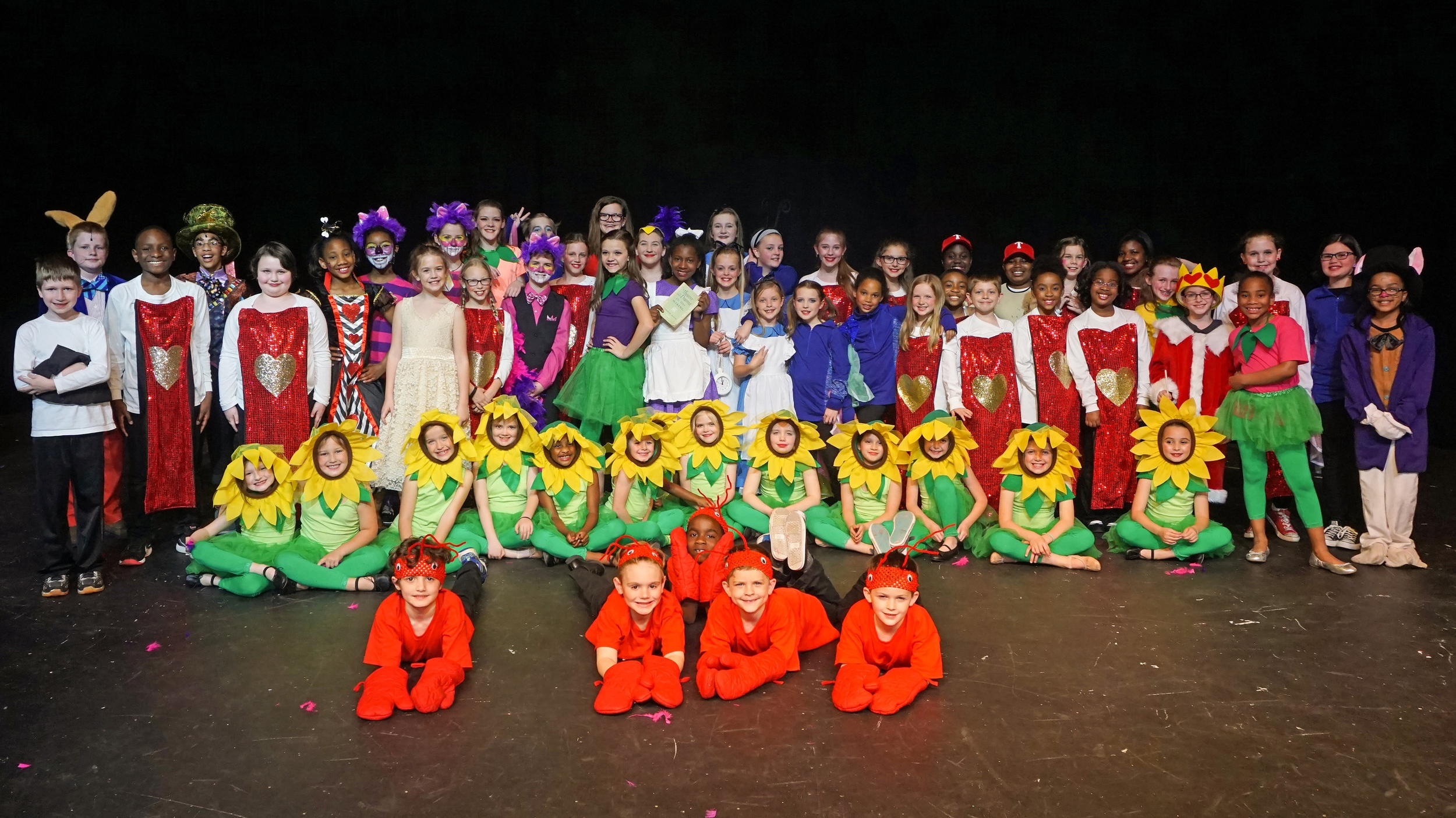 Alice in Wonderland, Jr.  Lower School | March 2017