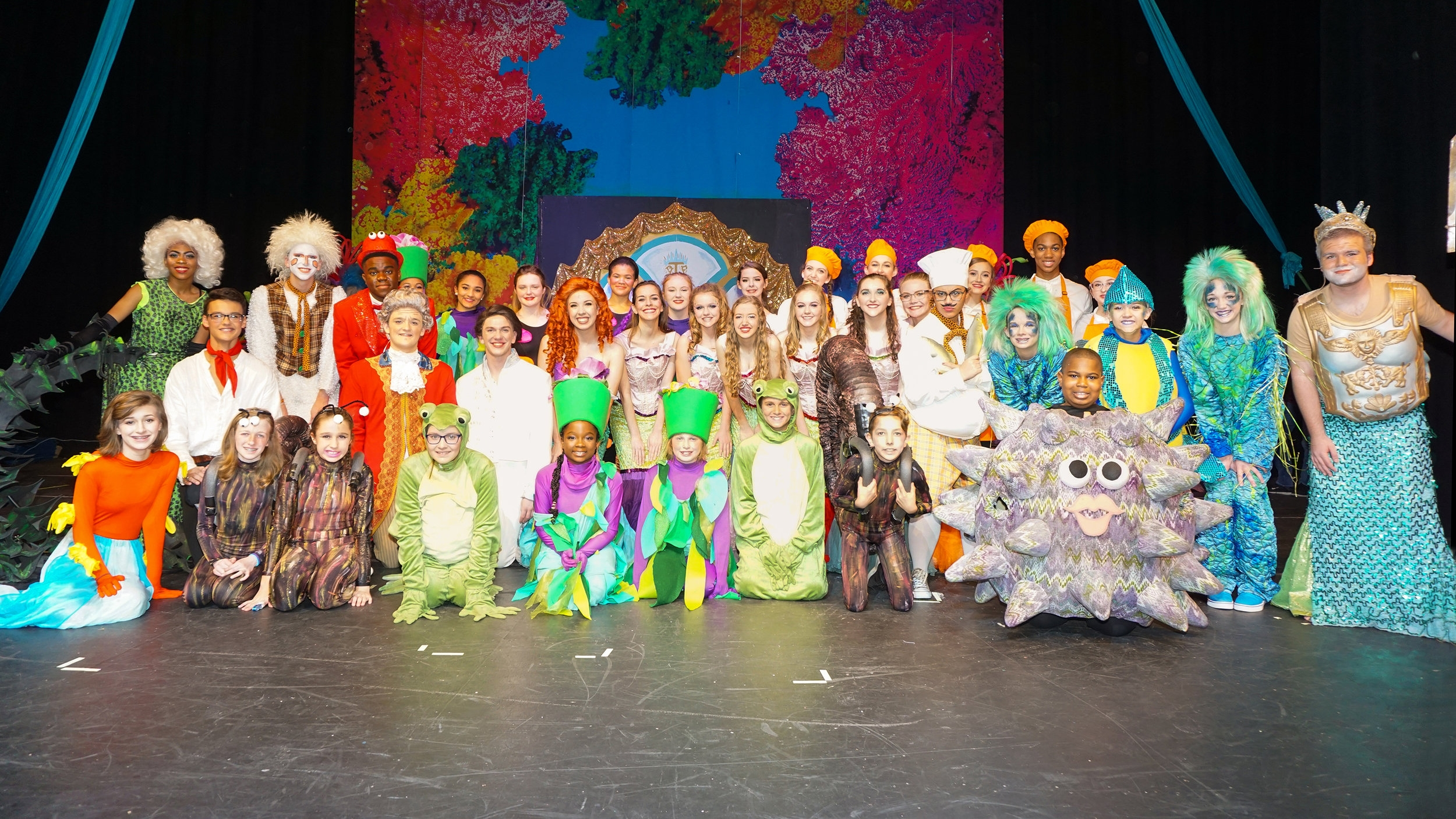 Disney's The Little Mermaid  Middle & Upper School | November 2017