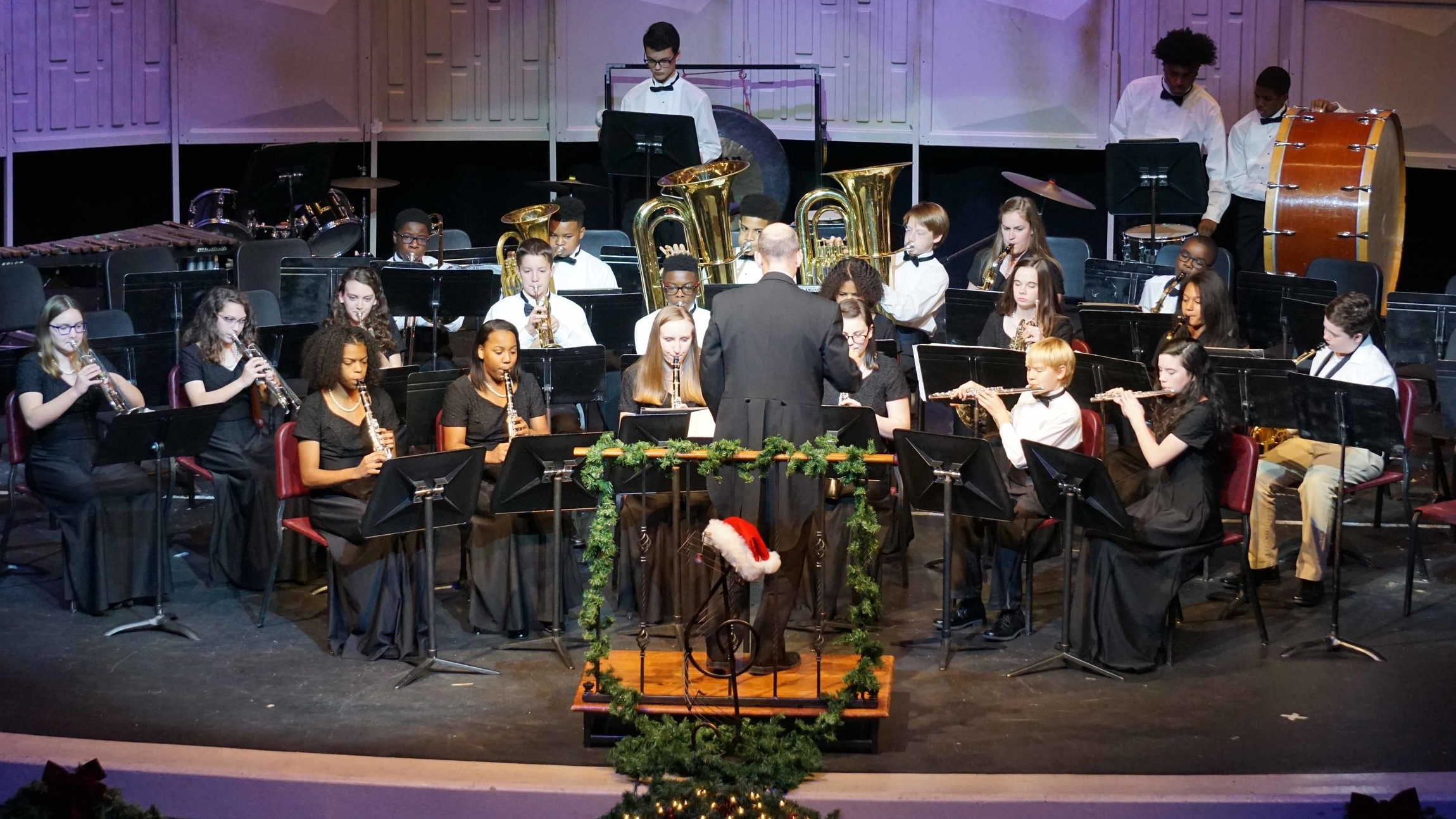 Junior Concert Band 2017 All Bands Christmas Concert