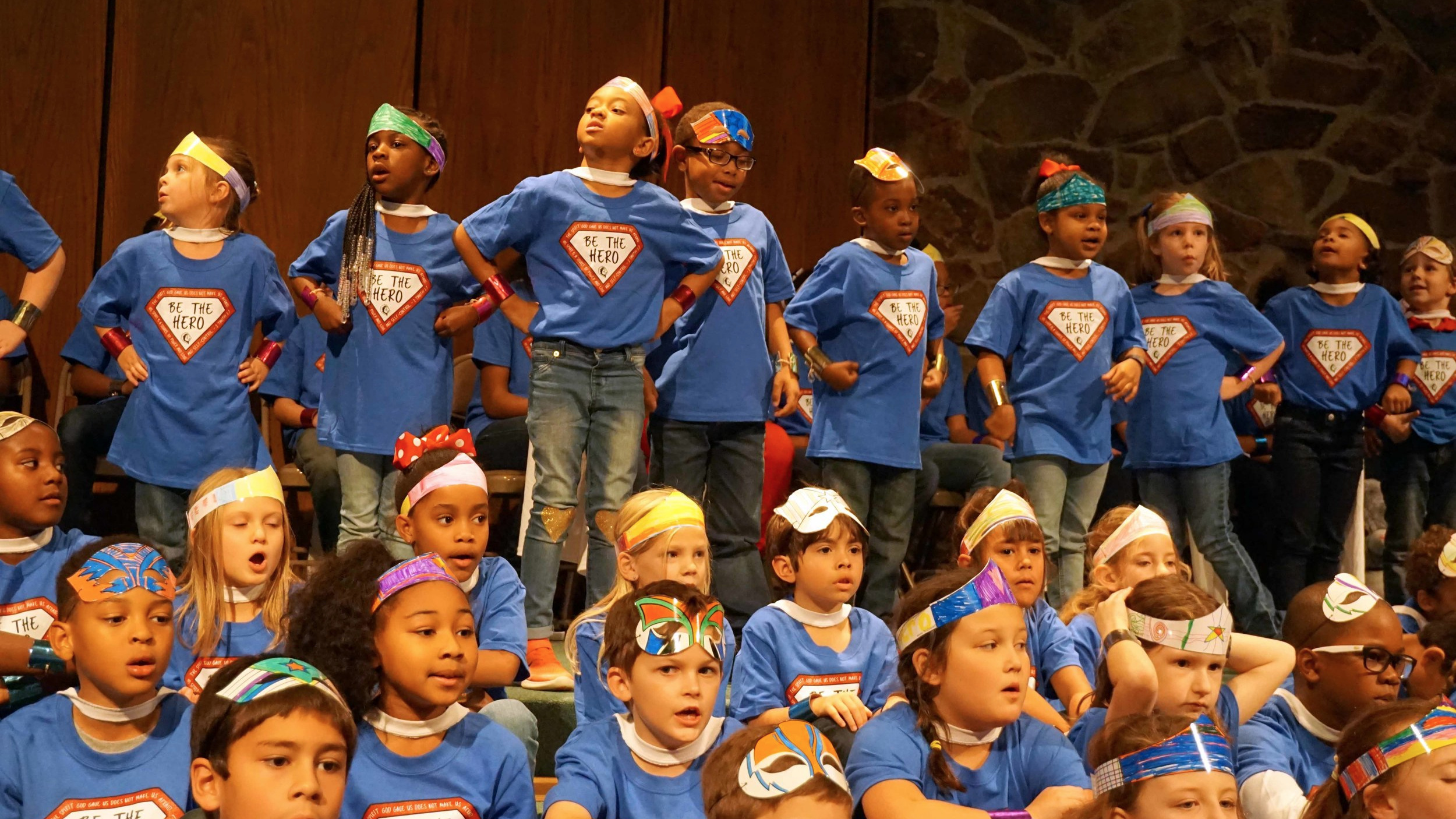 "WSLS SK–Grade 5 program ""Be The Hero"""