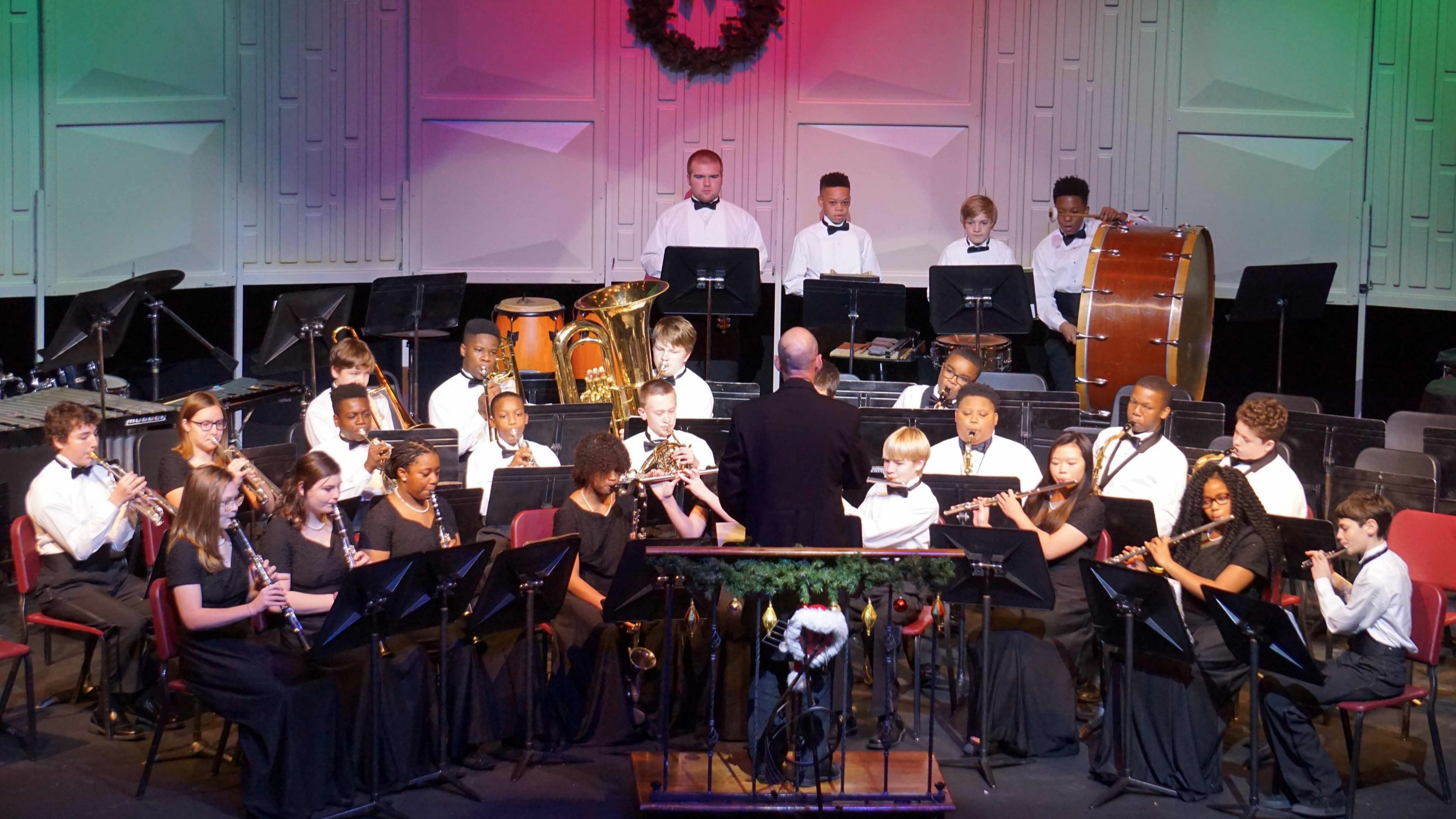 Junior Concert Band Christmas Concert 2018