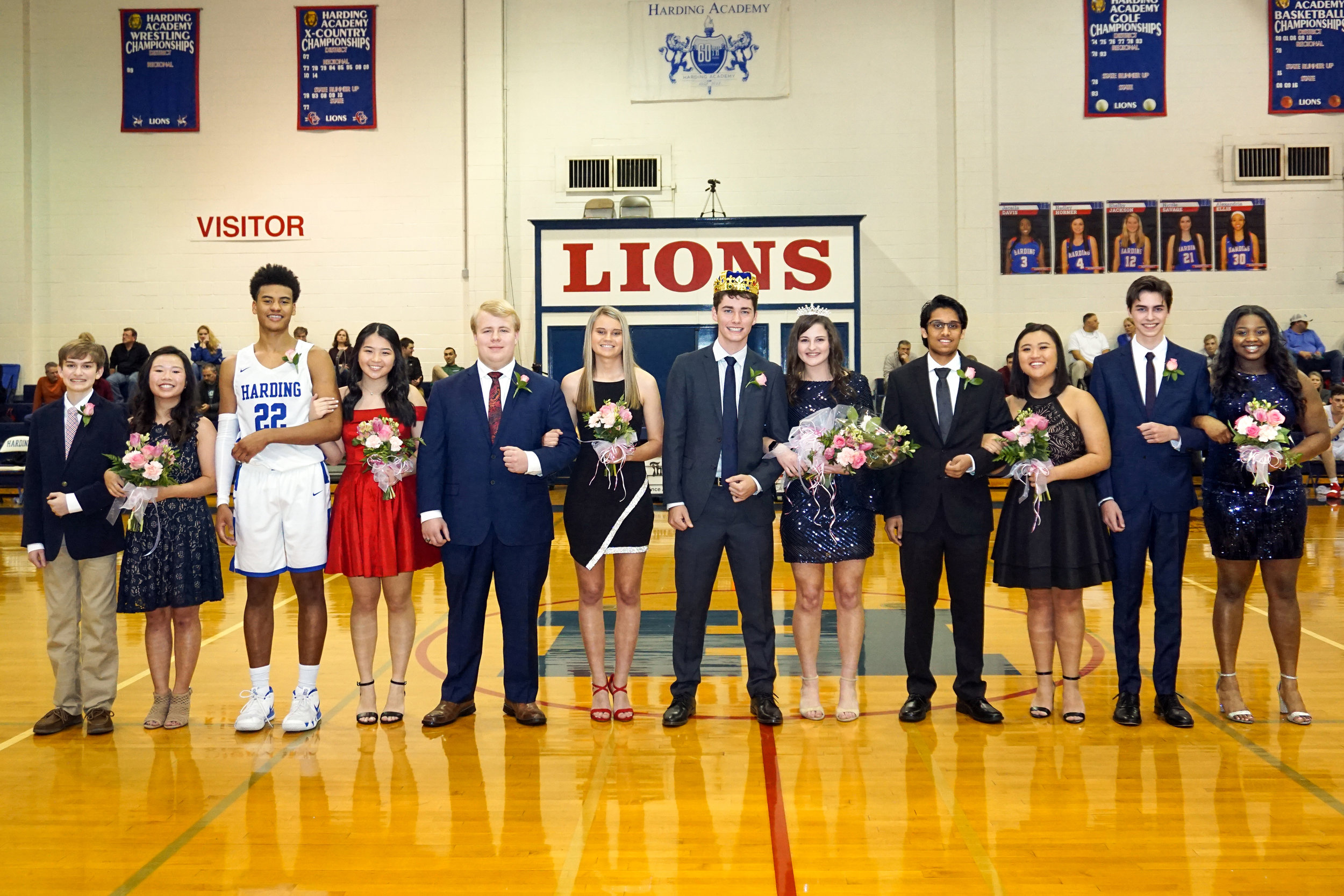 Bo Scott and Mallie Ottinger, Bobby Parks and Nicole Lock, Thomas Rovery and Jamie Ezell, Thad Lievens and Molli Arnett, Kyle D'Souza and Kelly Vinh, Levi Bennett and Monique Chew