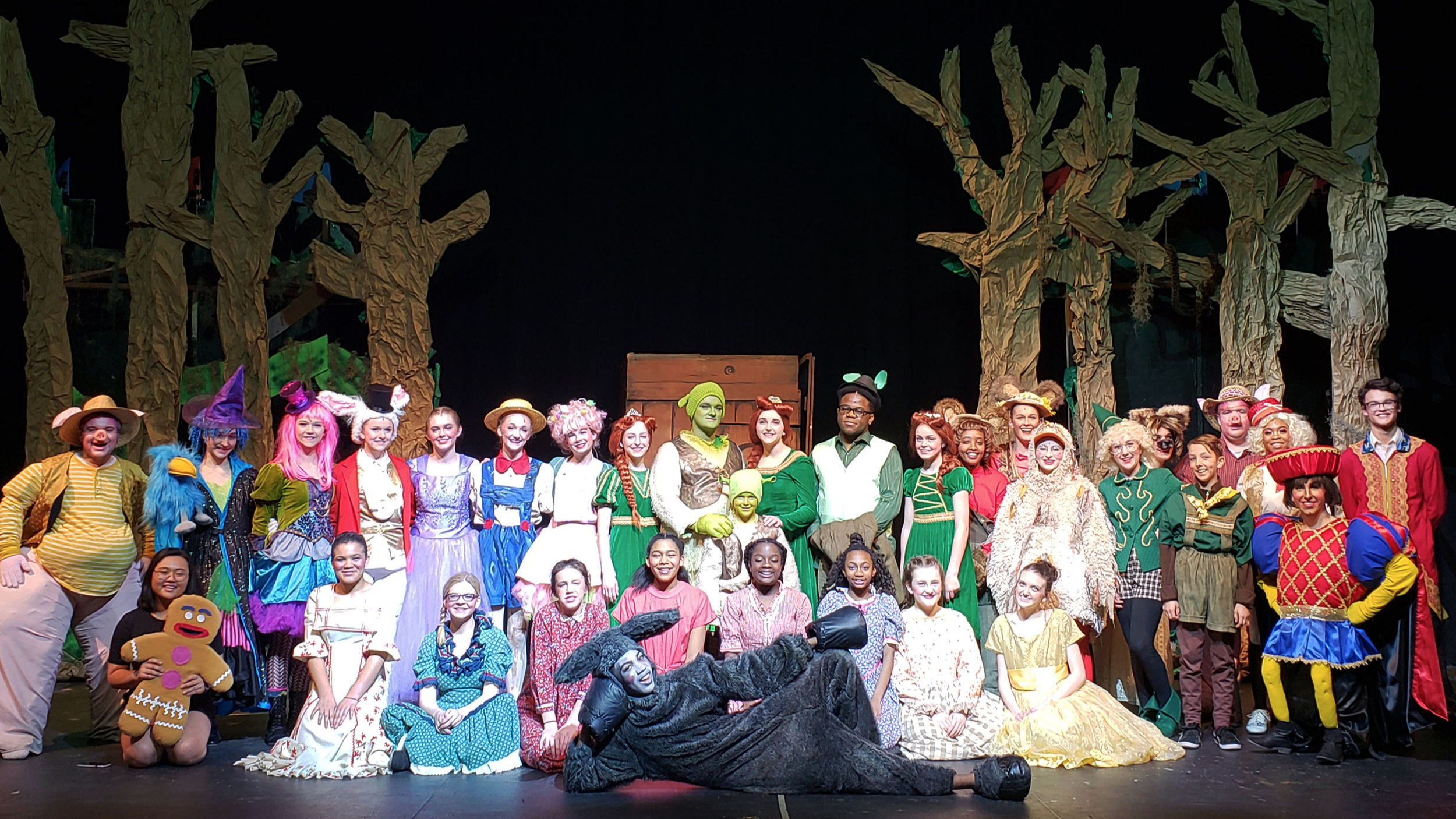 Shrek The Musical  Upper School | March 2019