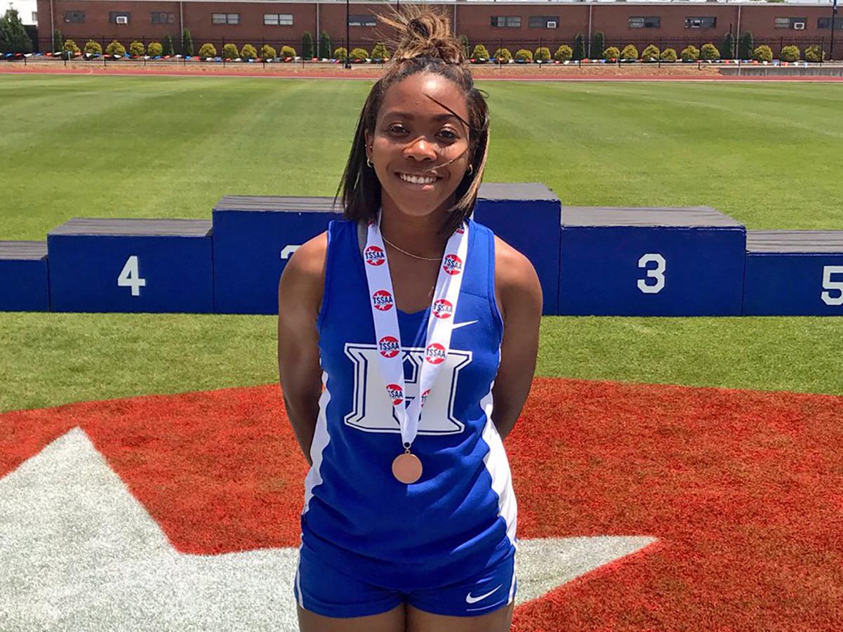 Ayana Walls 8th in triple jump
