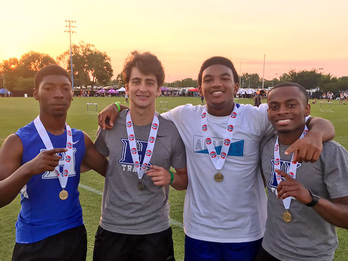 State Champs in 4x100