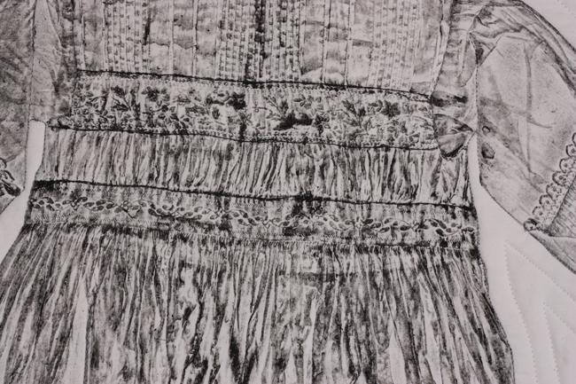 Christening Gown II detail