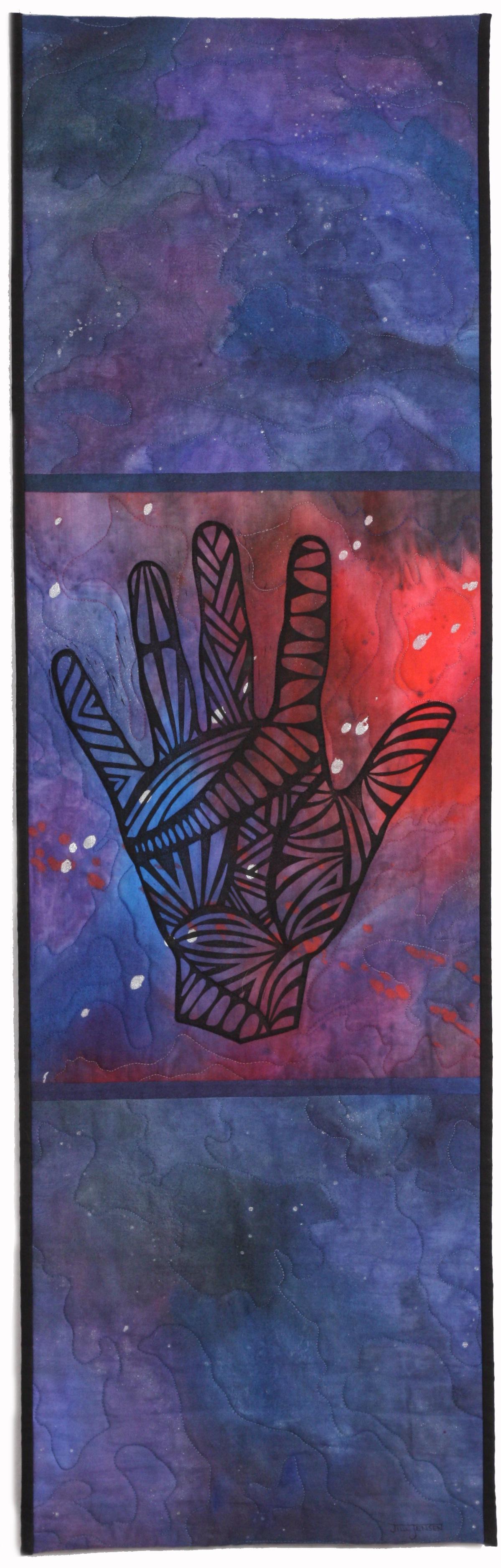 Hand XXVIII: Cosmos