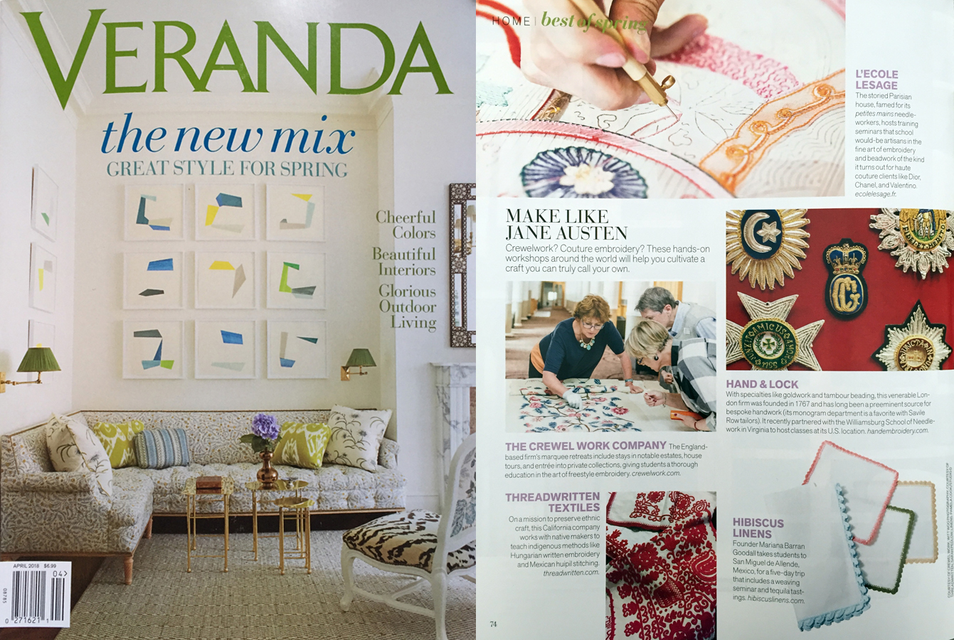Veranda , March-April 2018, p. 74