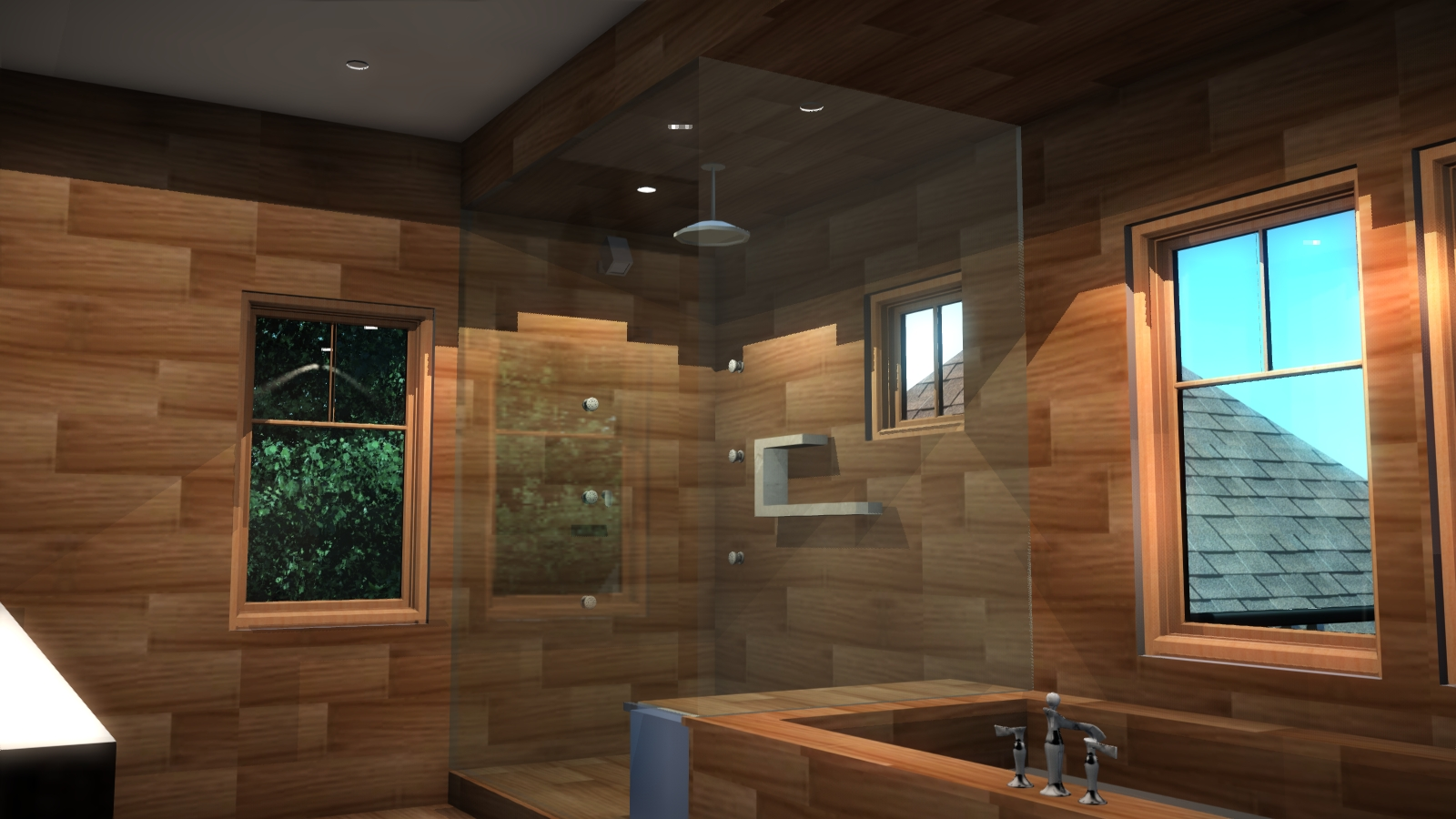 Master Bath Tile Study