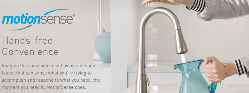 We are always afflicted by dirty hands when we are cooking or cleaning. What's better than not having to worry about germs and leaving a mess. Client's who suffer from arthritis also appreciate this great fixture.