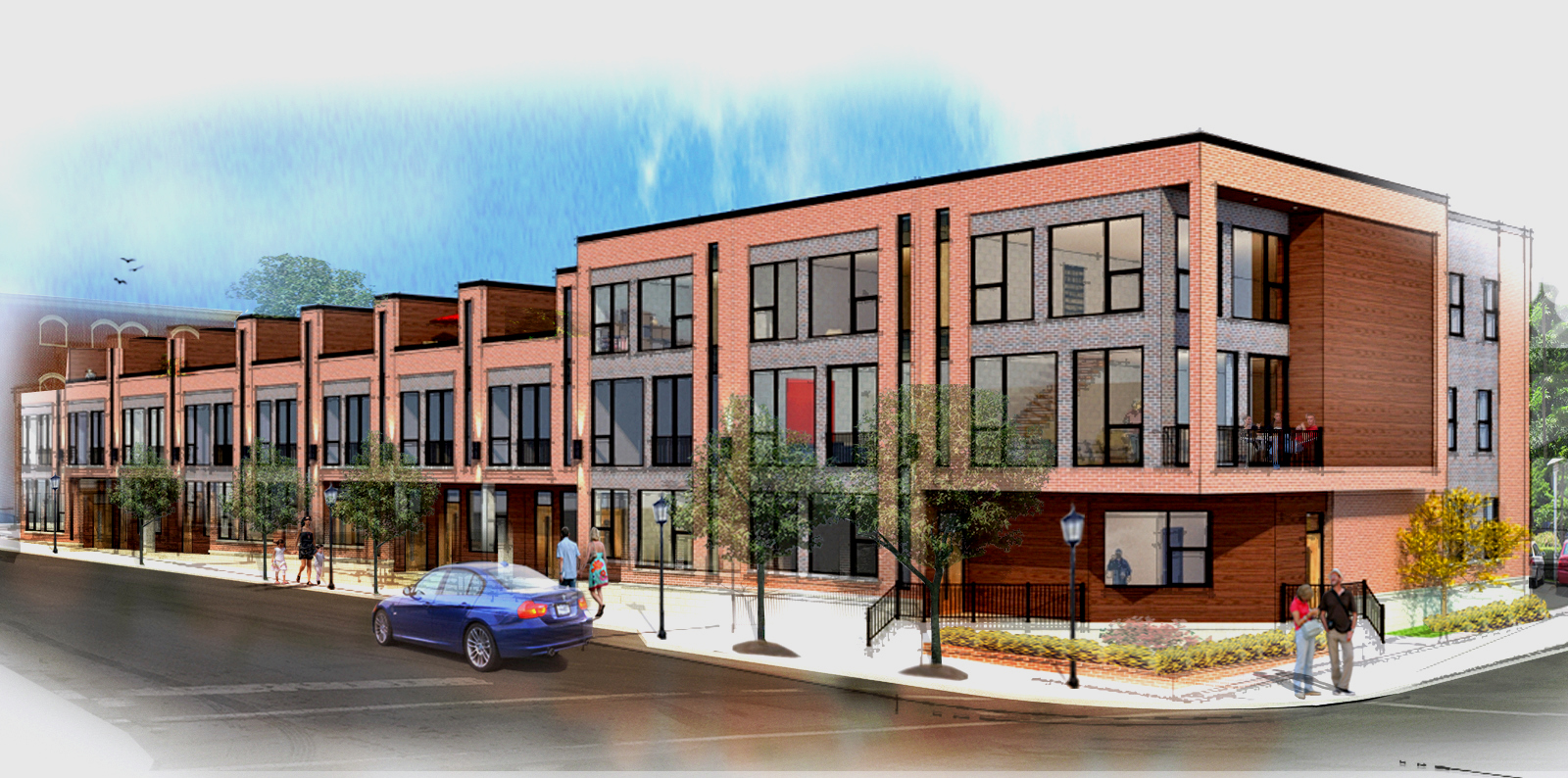 Coming soon, modern living in Northville, Michigan. 10 new residential units.