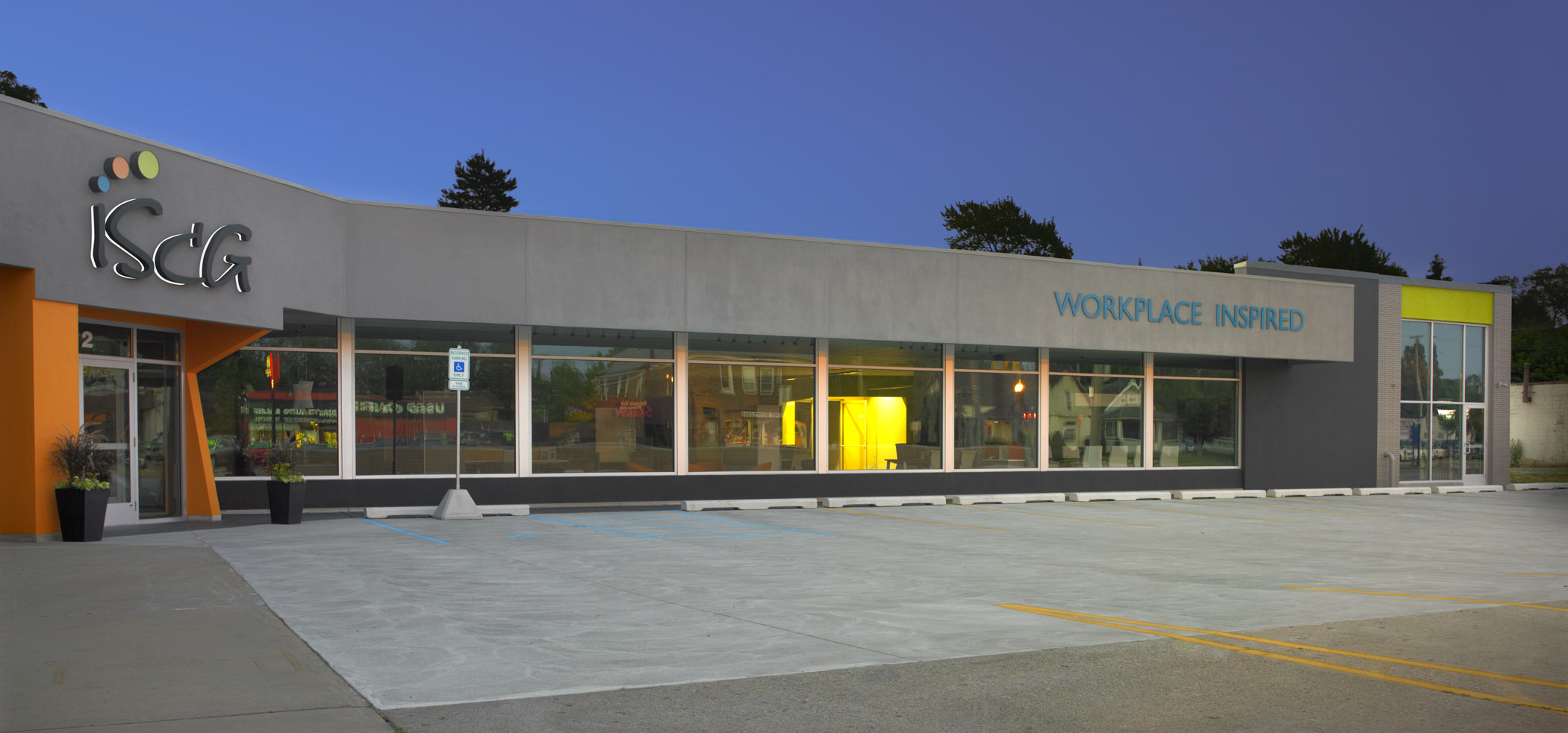 ISCG - Headquarters and Showroom - Royal Oak, MI